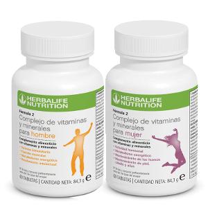 Multivitamínico Herbalife fórmula 2 para hombres y mujeres